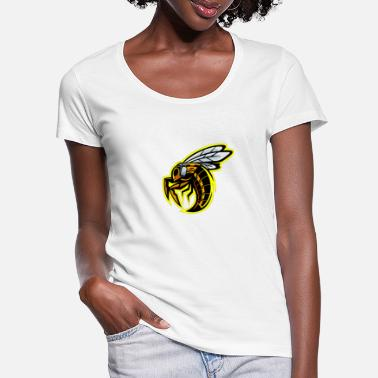 Wasp Wasp wasps bees insect wasp wasps Apocrita - Women's Scoop-Neck T-Shirt