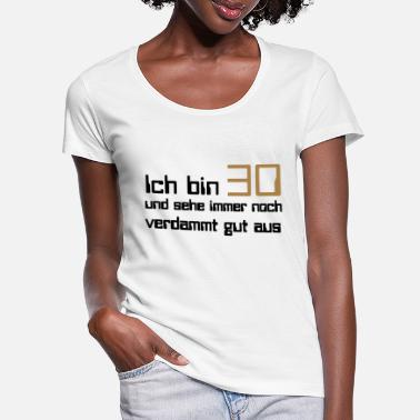 30s 30 - Women's Scoop-Neck T-Shirt