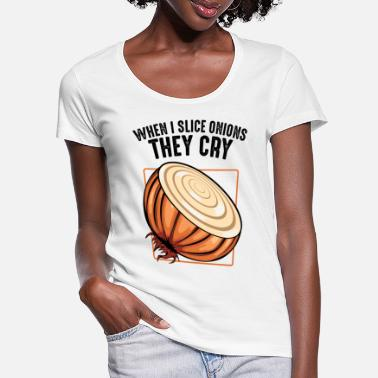 Onion Onion onions - Women's Scoop-Neck T-Shirt