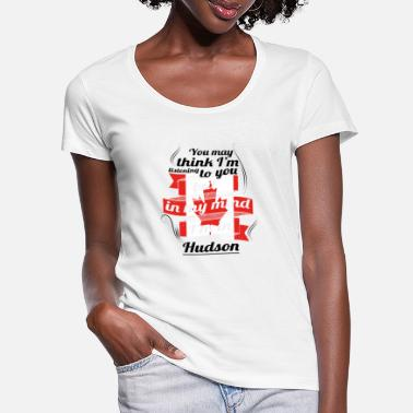 Hudson HOLIDAY HOME ROOTS TRAVEL Canada Canada Hudson - Vrouwen U-hals T-Shirt