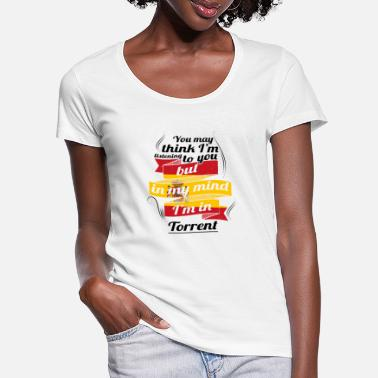 Torrent HOLIDAY Spain espanol TRAVEL IM IN Spain Torrent - Women's Scoop-Neck T-Shirt