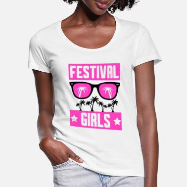 Festival Festival girls - Women's Scoop-Neck T-Shirt