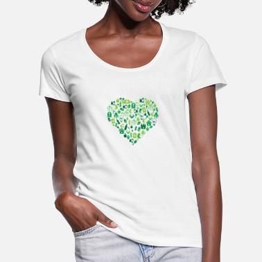 Protection Of The Environment Environment - Environmental Protection - Women's Scoop-Neck T-Shirt