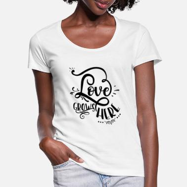 Gown Love gowns here - Women's Scoop-Neck T-Shirt