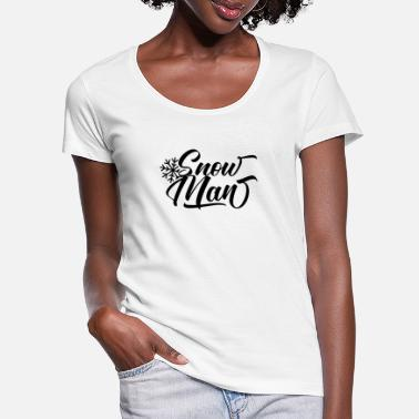 To snømenn står i et felt T skjorte for kvinner | Spreadshirt