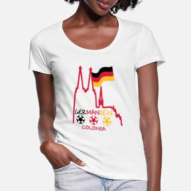 Germania Cologne Germany Germania Colonia - Women's Scoop-Neck T-Shirt