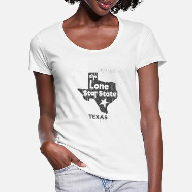 Lone Star Lone Star Texas - Women's Scoop-Neck T-Shirt