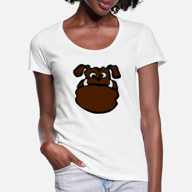 Doggie Doggy - Women's Scoop-Neck T-Shirt