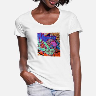 Graffiti Graffiti - Women's Scoop-Neck T-Shirt