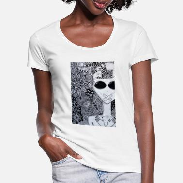 Seen Seen - Women's Scoop-Neck T-Shirt