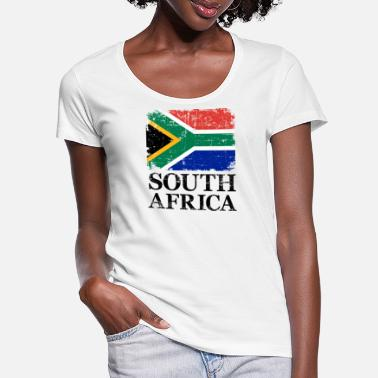 South South Africa - Women's Scoop-Neck T-Shirt