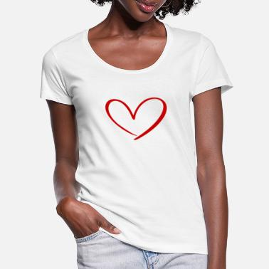 Cupido Hearts Against Hate 315 - Women's Scoop-Neck T-Shirt
