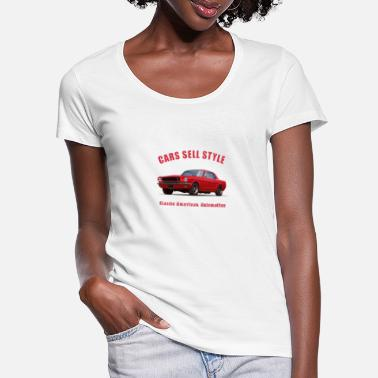 Ford 65 Mustang-1 - Women's Scoop-Neck T-Shirt