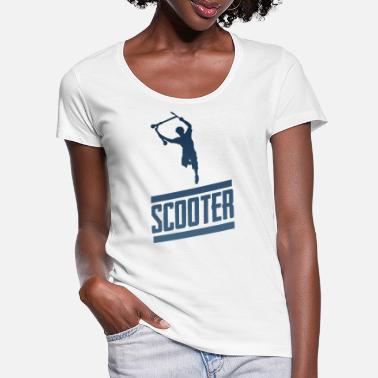Freestyle Scooter - Vrouwen U-hals T-Shirt