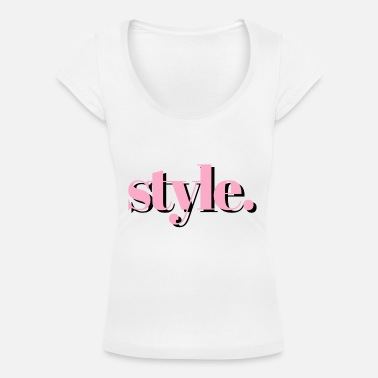 Style style - Women's Scoop-Neck T-Shirt