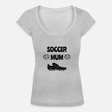 Mumford And Sons soccer mum soccer mum woman ball - Women's Scoop-Neck T-Shirt