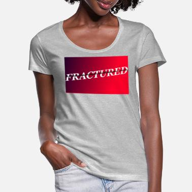Fracture FRACTURE - T-shirt col rond profond Femme