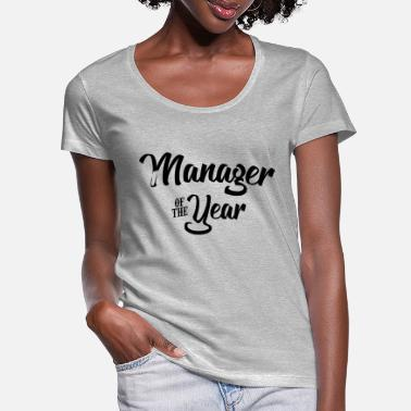 Manager manager of the year 2107 2018 2019 - Women's Scoop-Neck T-Shirt