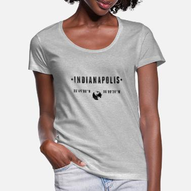 Indianapolis Indianapolis - Women's Scoop-Neck T-Shirt