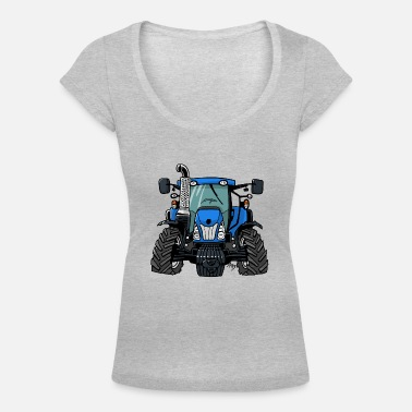 Holland 0646 NewHolland - Women's Scoop-Neck T-Shirt