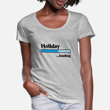 Holiday holiday loading - T-shirt col rond profond Femme