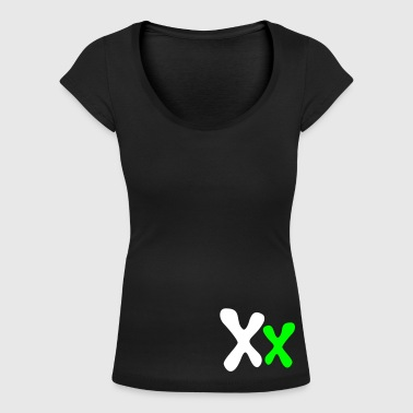 Chromosomes - Xx - show your Femininity! - Women's Scoop Neck T-Shirt