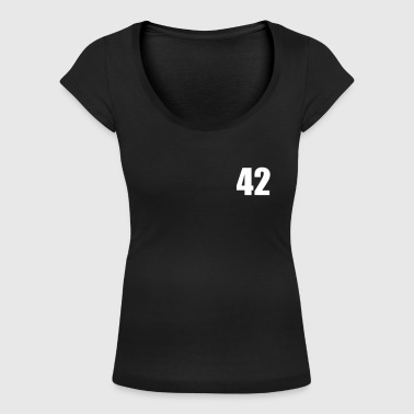 42 - Women's Scoop Neck T-Shirt