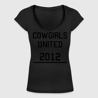 Cowgirls United - Women's Scoop Neck T-Shirt