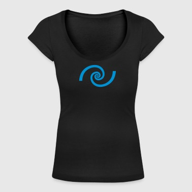 Spirale d'or, section, Phi, Fibonacci, Physique - T-shirt col U Femme