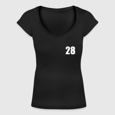 28 - Women's Scoop Neck T-Shirt