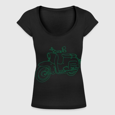 Scooter Simson Schwalbe - T-shirt col U Femme