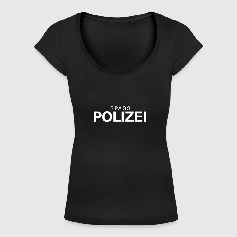 Fun police - Women's Scoop Neck T-Shirt