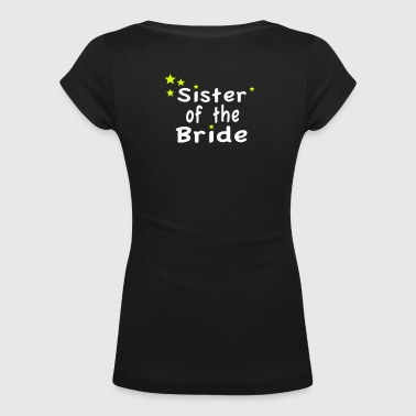 Star Sister of the Bride - T-shirt scollata donna