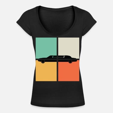 Limo DISTRESSED LIMO - Women's Scoop-Neck T-Shirt