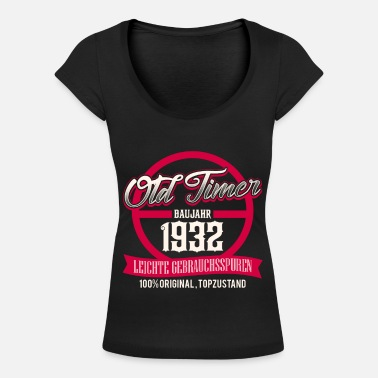 1932 Oldtimer - built 1932 - top condition - DE - Women's Scoop-Neck T-Shirt