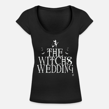 Wedding Vows The Witch's Wedding - Women's Scoop-Neck T-Shirt
