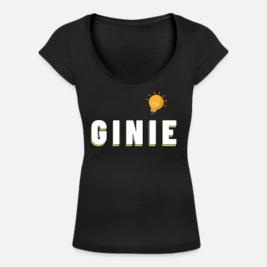 Ginie grappige Gin Sayings Party Gift - Vrouwen U-hals T-Shirt