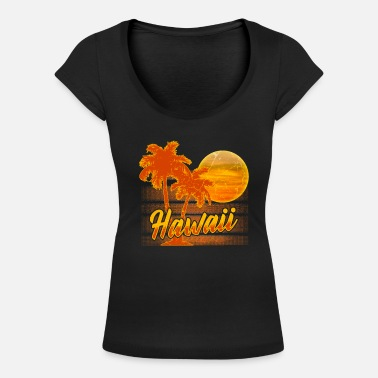 Hawaii Hawaii - Women's Scoop-Neck T-Shirt