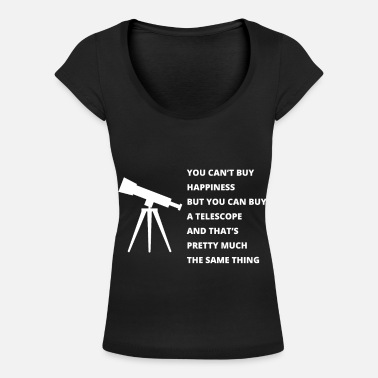 Astronomy Astronomy - Women's Scoop-Neck T-Shirt