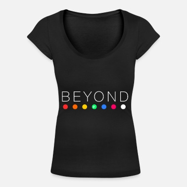 Beyond Beyond - Women's Scoop-Neck T-Shirt