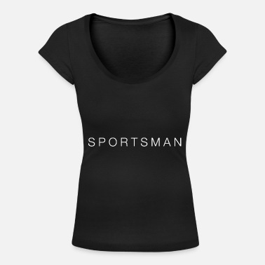 Sportsman sportsman - Women's Scoop-Neck T-Shirt