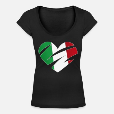 Cuore CUORE ITALIA - Women's Scoop-Neck T-Shirt