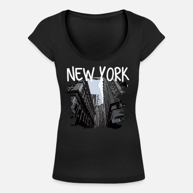 I Love New York New York - Vrouwen U-hals T-Shirt