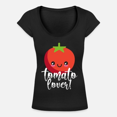 Tomato tomato - Women's Scoop-Neck T-Shirt