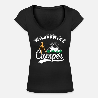 Wilderness Wilderness Camper - Women's Scoop-Neck T-Shirt