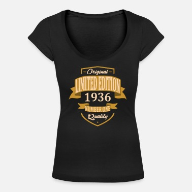 1936 Limited Edition 1936 - T-shirt col rond profond Femme