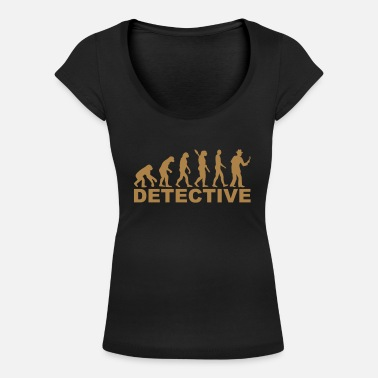 Detective Detective - Women's Scoop-Neck T-Shirt