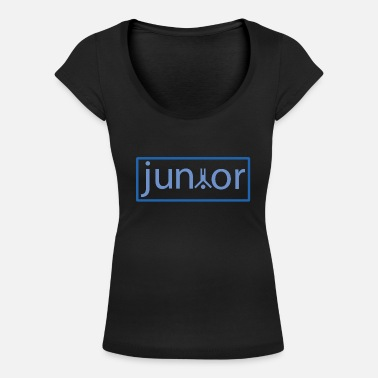 Junior junior - Women's Scoop-Neck T-Shirt