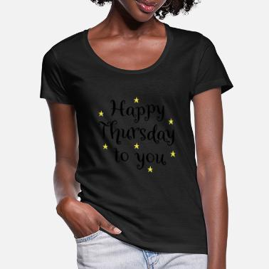 Thursday 2541614 129631222 thursday - Women's Scoop-Neck T-Shirt