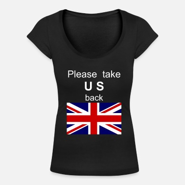 Commonwealth Day Neem alstublieft US Commonwealth UK mee - Vrouwen U-hals T-Shirt